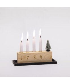 Kerzenhalter, Advent to go