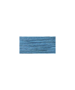 Baumwollkordel, gewachst, 1mm, SB-Karte 20 m, türkis