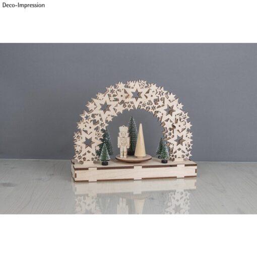 Holz 3D Bausatz Sterne