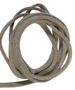Micro-Wildlederband, grau