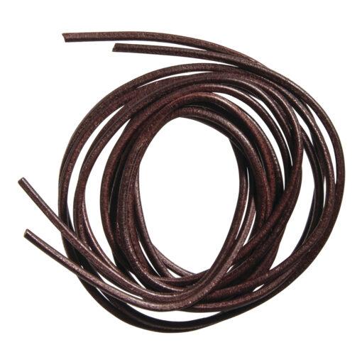 Lederband aus Rindleder, dunkelbraun, 2mm Ø