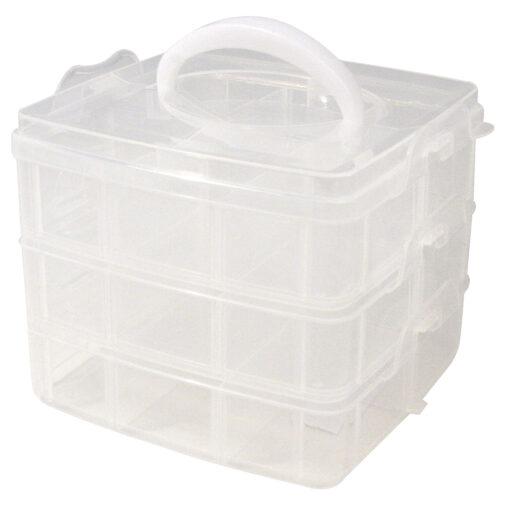 Kunststoff-Sortierbox mit Tragegriff