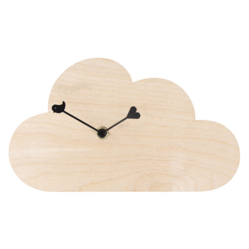 Rayher Holz-Wanduhr Wolke, Komplettset