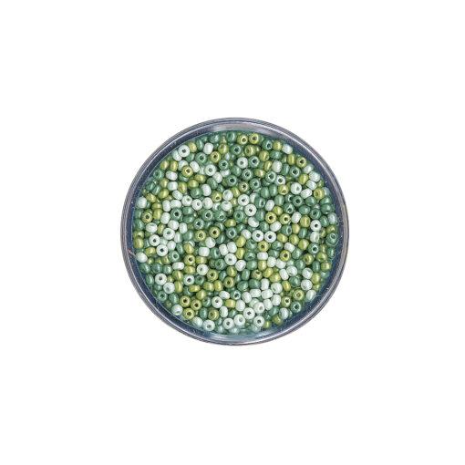 Rocailles, perlmutt, 2,6mm ø zur Schmuckgestaltung