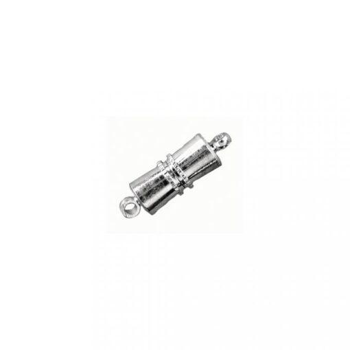 Magnetschließe, konisch, platin, zur Schmuckgestaltung