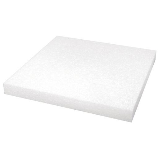 Styropor-Platte, 40x40x4cm, zum Basteln