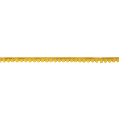 Rayher Mini Pompon-Borte, 3m, maisgelb