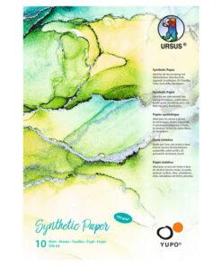 Ursus Malblock, YUPO, 10 Blatt, zum Malen und Zeichnen