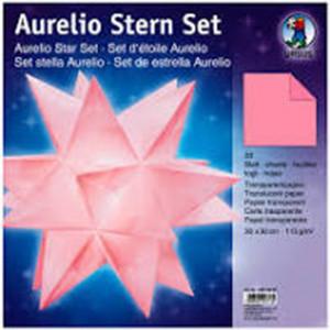 Ursus Aurelio-Stern Transparentpapier, pink