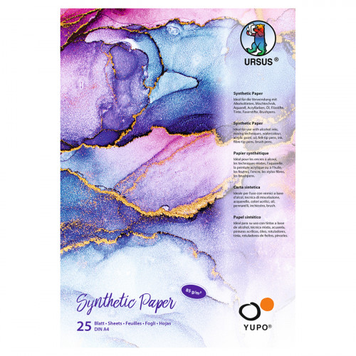 Ursus Malblock, Synthetic Paper, DIN A5