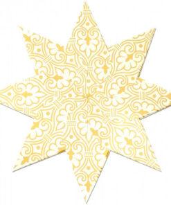 Weihnachtssterne Stella Indian Style, weiß/creme