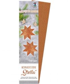 Ursus Weihnachtssterne Stella, Crush paper, zum Basteln
