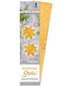 Ursus Weihnachtssterne Stella, Goldranken, zum Basteln
