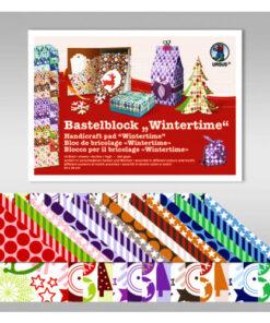 Ursus Bastelblock Wintertime, 24 x 34 cm