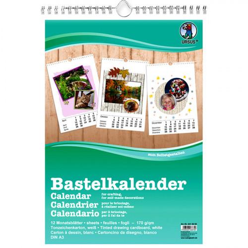 Bastelkalender DIN A3, zum selber Gestalten