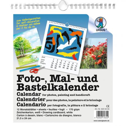 Ursus Fotokalender zum Gestalten