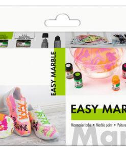 Marabu Starter-Set Easy Marble, zum Marmorieren