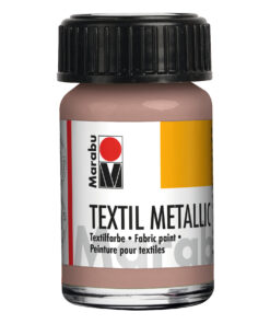 Marabu Textil metallic, deckende Stoffmalfarbe