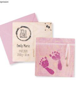 """Rayher Abdruckset """"Baby"""", pink, 10-teilig"""