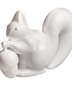 Styropor-Eichhörnchen zum Gestalten
