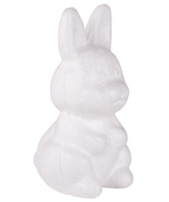 Styropor-Hase, stehend, 8 cm