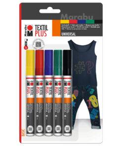 Marabu Textil Painter plus im Starterset 3mm