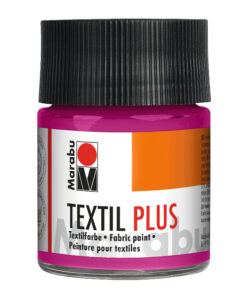 Marabu Textil plus himbeere, Stoffmalfarbe für dunkle Stoffe