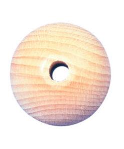 Rayher Rohholzkugel, gebohrt, 60 mm
