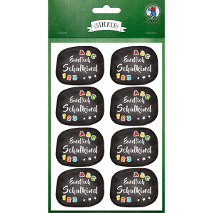 Ursus Sticker Schulanfang
