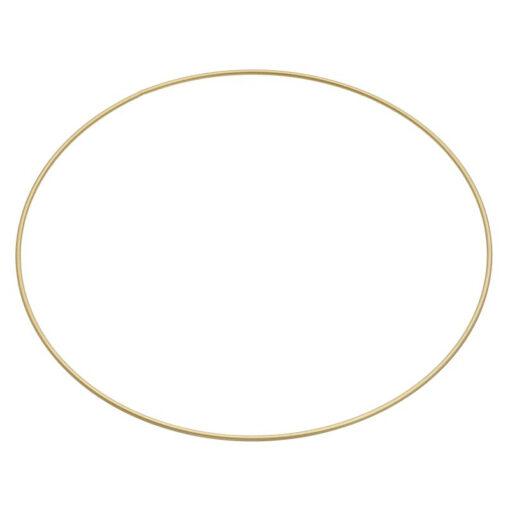 Metallring Ø 35cm, gold beschichtet