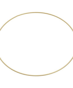 Metallring Ø 40cm, gold beschichtet