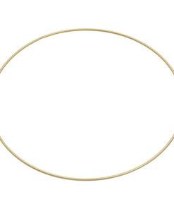 Metallring Ø 50cm, gold beschichtet