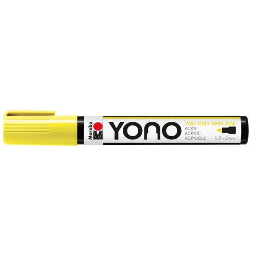 Marabu YONO Acrylmalstift in neon-gelb