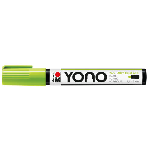 Marabu YONO Acrylmalstift in Neon-Grün