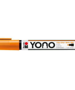 Marabu YONO Acrylmalstift in neon-orange