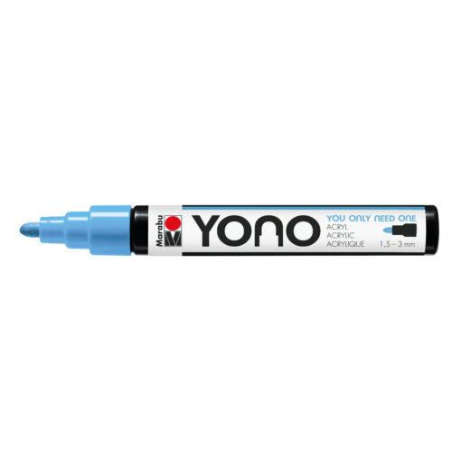 Marabu YONO Marker Pastelblau, mit Rundspitze 1,5-3mm