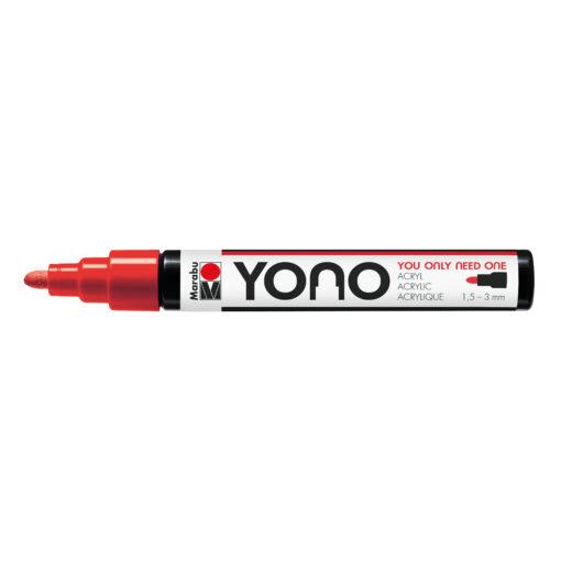 Marabu YONO Marker Kirsche, mit Rundspitze, 1,5-3 mm