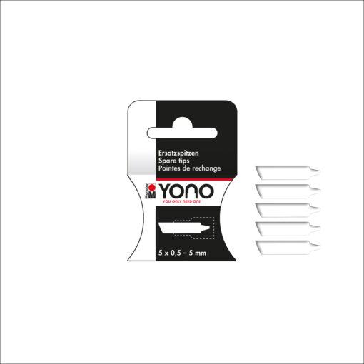 Marabu YONO Spitzen, 0,5 - 5 mm