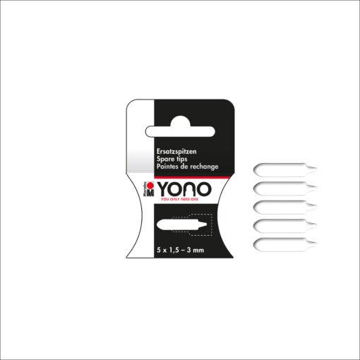 Marabu YONO Spitzen, 1,5 - 3 mm