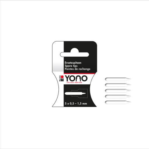 Marabu YONO Spitzen, 0,5 - 1,5 mm
