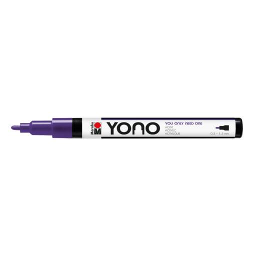 Marabu YONO Marker Violet, mit Rundspitze fein, 0,5-1,5 mm