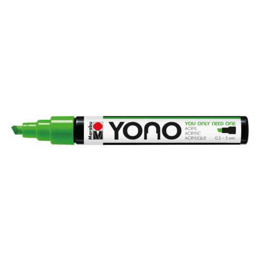 Marabu YONO Marker reseda mit Keilspitze, 0,5-5 mm