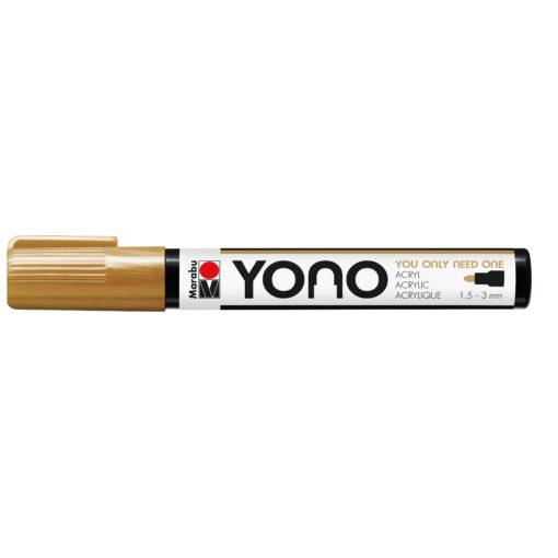 Marabu YONO Marker, Acrylmalstift 084 Gold