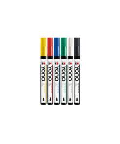 Marabu YONO Acrylmarker Set mit Rundspitze fein, 0,5-1,5mm