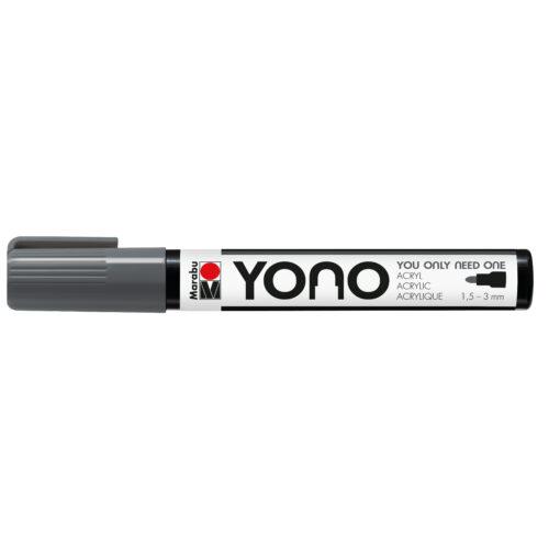 Marabu YONO Acrylmalstift in Dunkelgrau