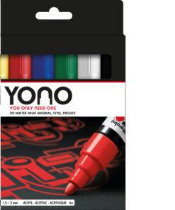 Marabu Stifteset YONO Marker, 6-teilig