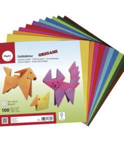 Rayher Origami-Faltblätter, 20 x 20 cm