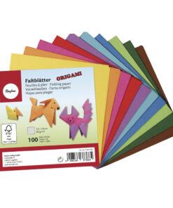 Rayher Origami-Faltblätter, 10 x 10 cm