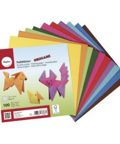 Rayher Origami-Faltblätter, 15 x 15 cm