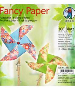 Ursus Faltblätter Fancy Paper, 15 x 15 cm